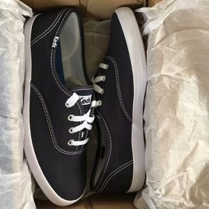 Navy Champion Canvas Keds Sneakers
